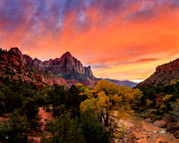 The Watchman Sunset - 1